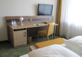 Zimmer im Hotel Bildungsblick