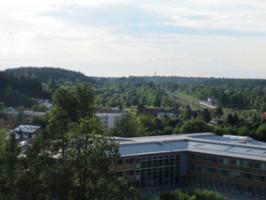 Ausblick vom Hotel Bildungsblick
