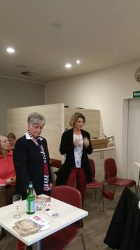 Gemeinderätin Barbara Bittner im Dialog