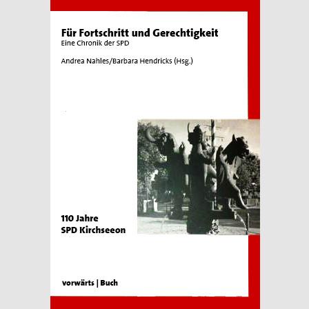 Für Fortschritt und Gerechtigkeit - Eine Chronik der SPD